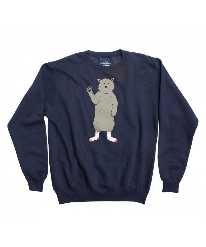 Altru Apparel Bear Socks Sweatshirt