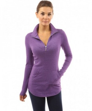 PattyBoutik Womens Pocket Heather Orchid
