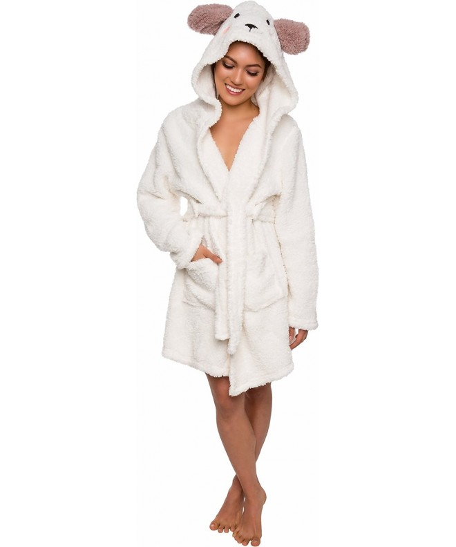 Silver Lilly Animal Hooded Robe
