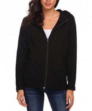 Beyove Womens Full Zip Fleece Pockets