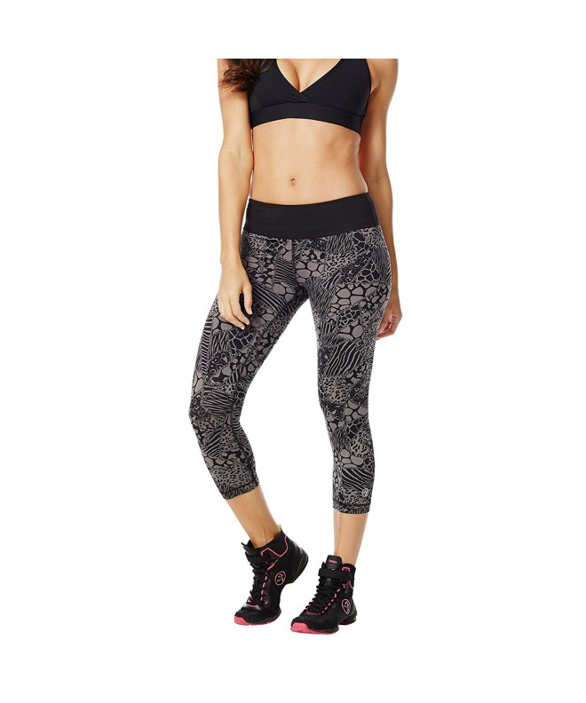 Zumba Fitness Leggings Gunmetal XX Large