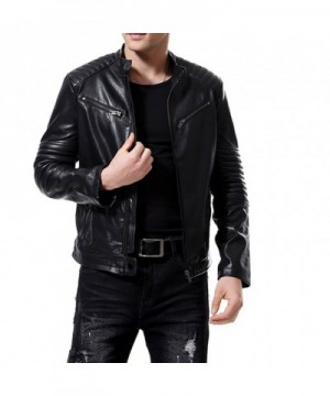 Brand Original Men's Faux Leather Coats Wholesale