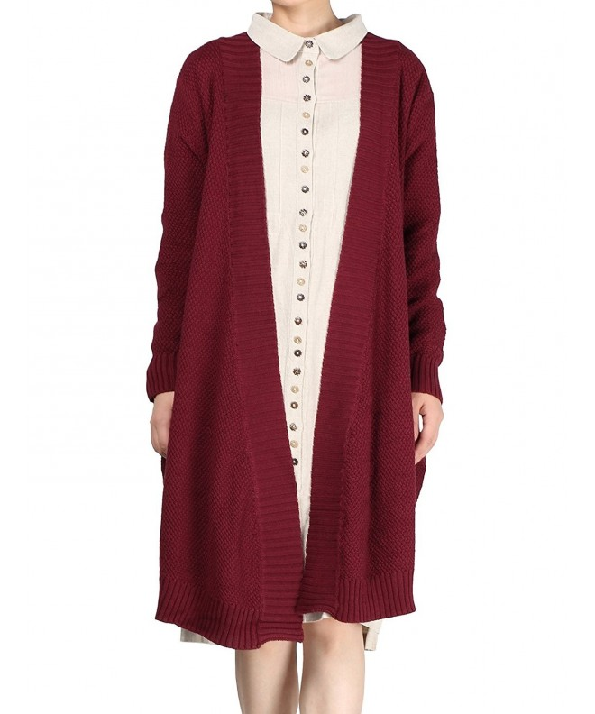 Mordenmiss Womens Sleeve Cardigan Style