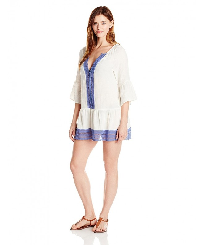 Lark Ro Womens Caftan Cover Up