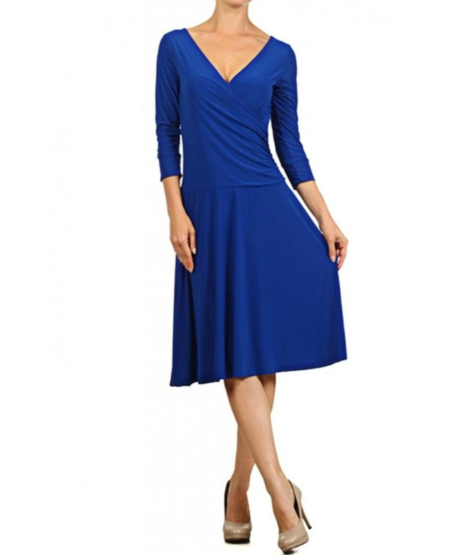 Womens Casual Aline Dress Length