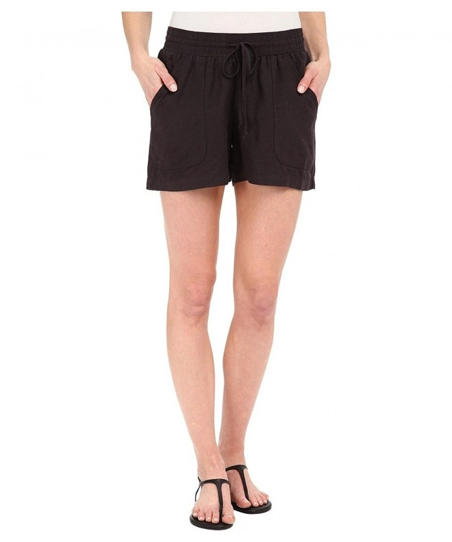 Allen Womens Linen Short Shorts