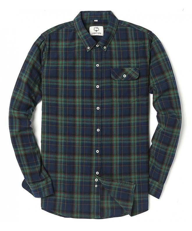 Mocotono Sleeve Flannel Checkered XX Large