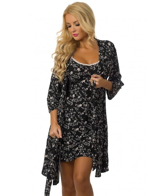 Velvet Kitten Dreaming Sleepwear Nightgown
