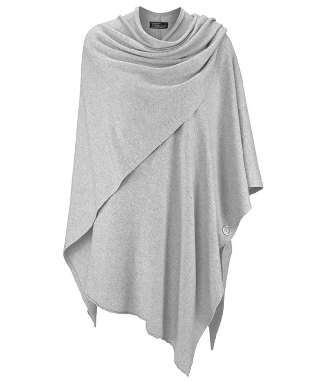 Zwillingsherz Womens Poncho Topper Cashmere
