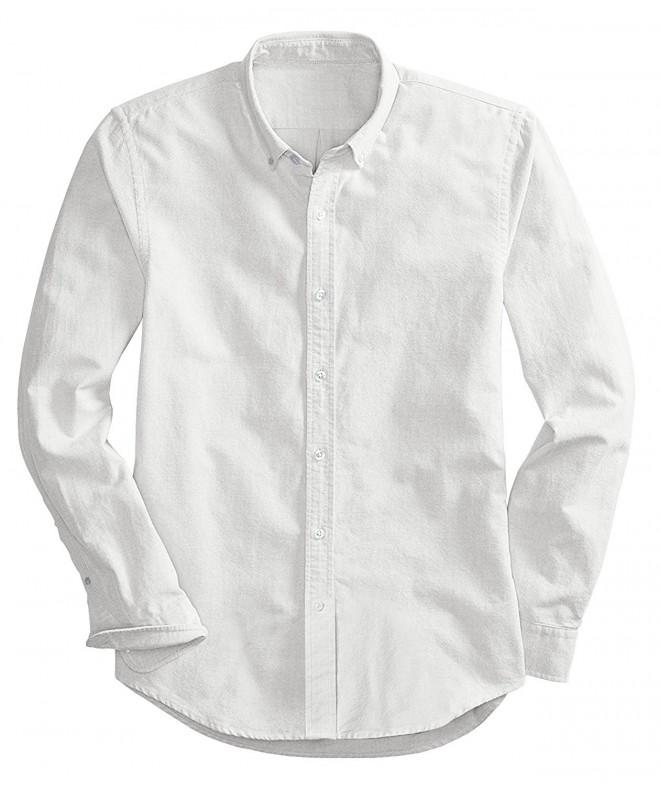 Mr Zhang Sleeve Oxford Dress White US