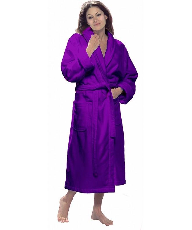 byLora Shawl Collar Unisex Purple