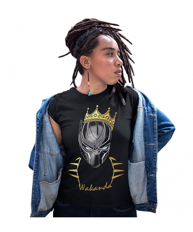 Wakanda Women Black Shirt Large