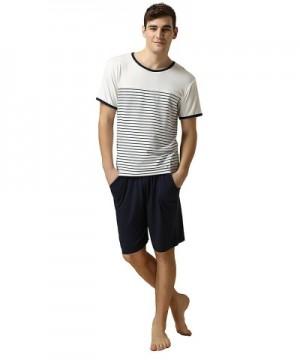 Qianxiu Classic Stripes Sleepwear Nightdress
