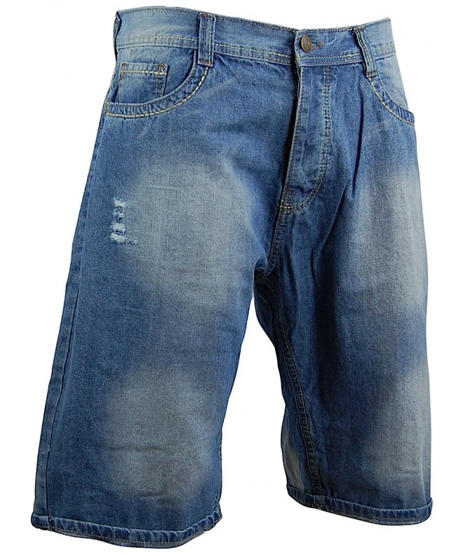 Worior Shorts Straight Tastefully Distressed