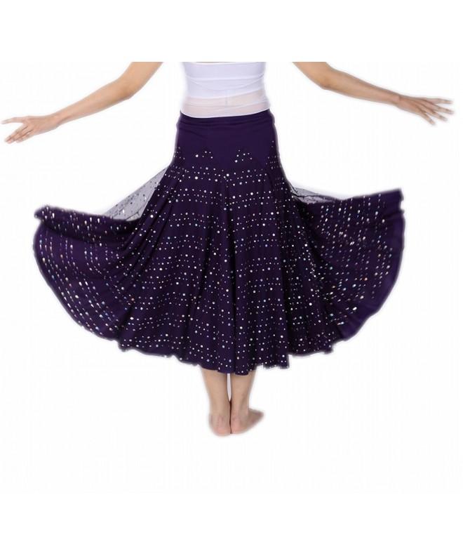 CISMRAK Ballroom Dancing waltz Purple