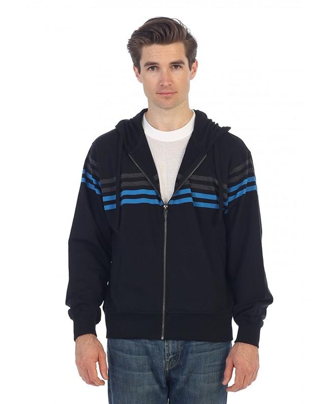 Gioberti French Striped Hoodie Sweater