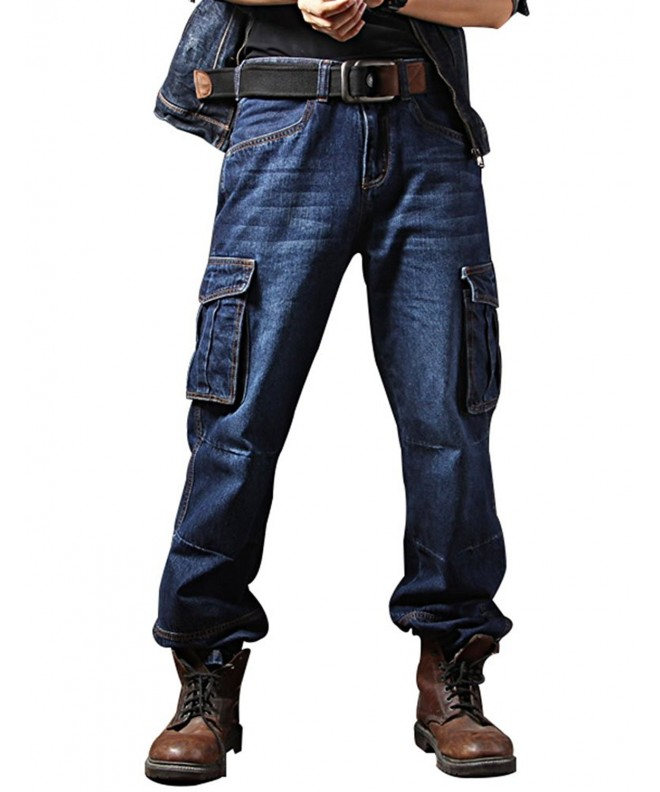 Idopy Casual Motorcycle Workwear Pockets