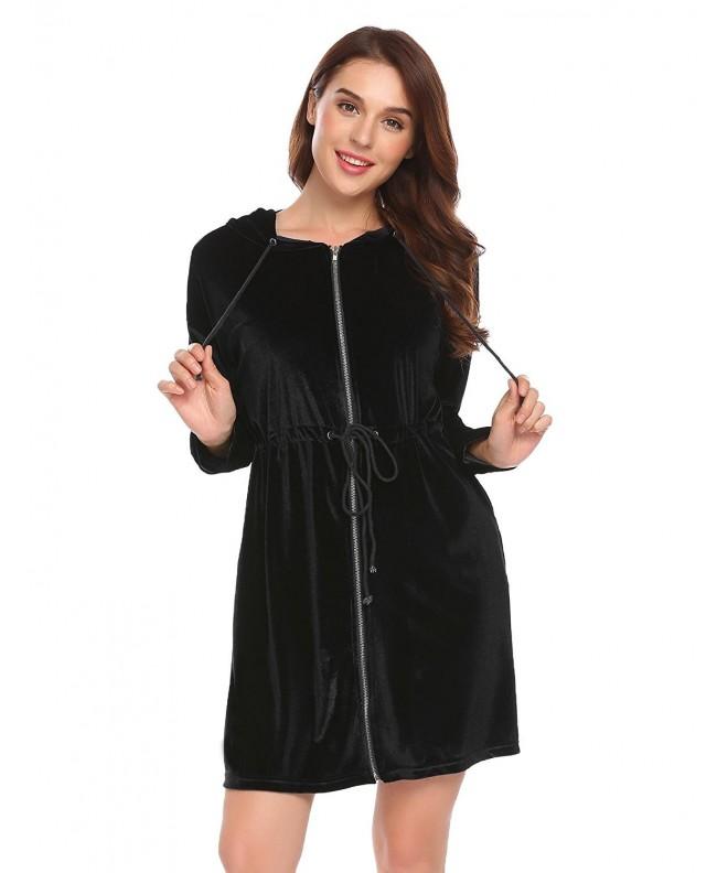 Ekouaer Womens Nightwear Bathrobe Sleepwear