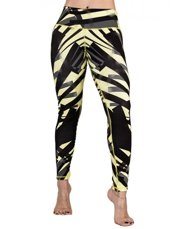ZIKZAK Womens Leggings Stretch Abstract