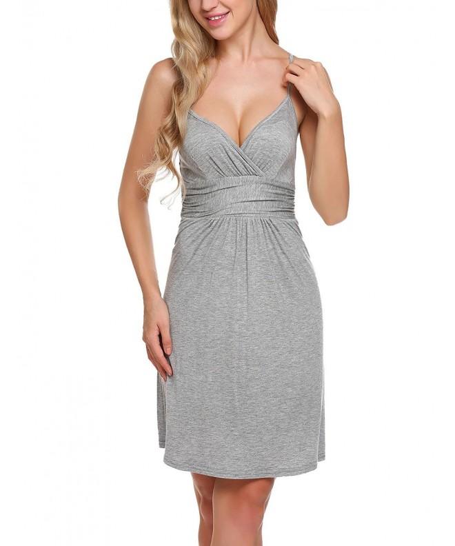 Misakia Cotton Nightgown Chemise Sleepwear