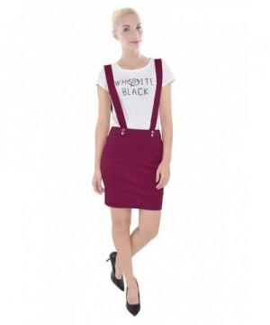 PattyCandy Womens Fuchsia Straight Suspenders