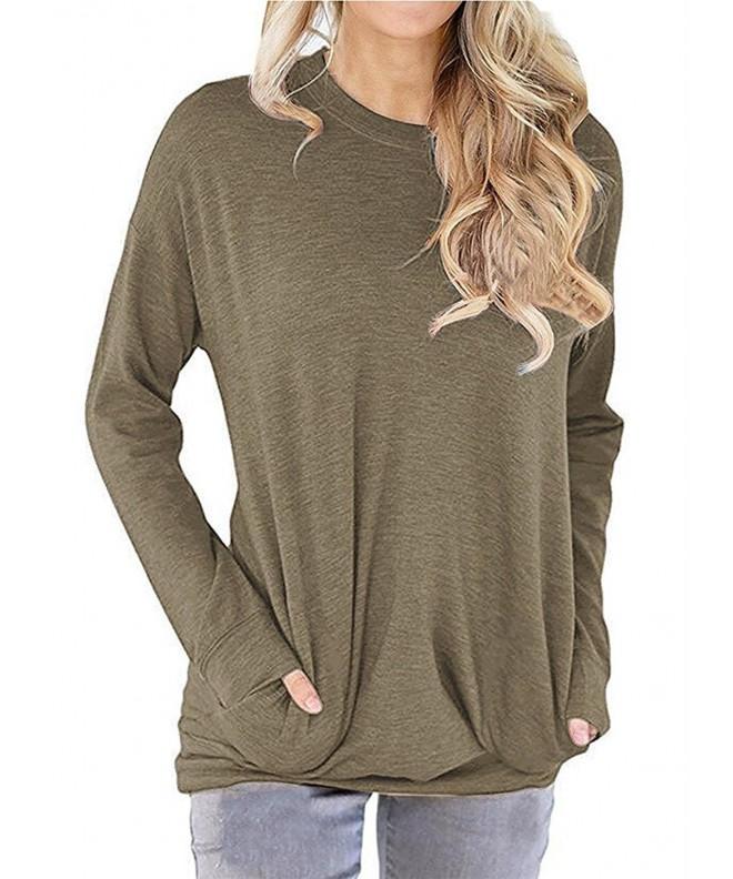 RJXDLT Lightweight Sweatshirt Pullover Blouses