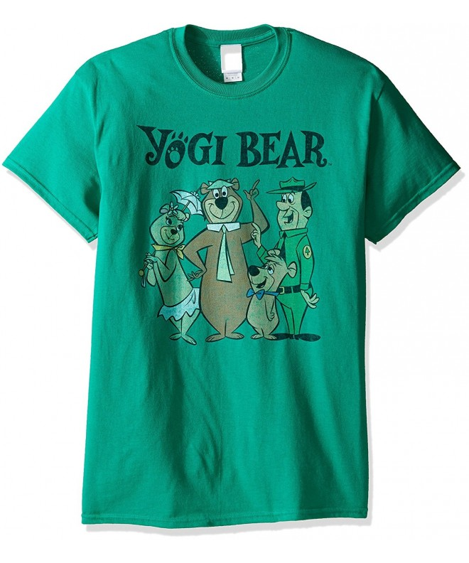 Yogi Bear Mens T Shirt Kelly