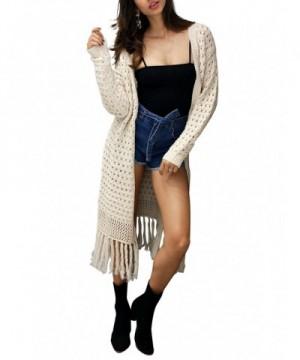 Glamaker Womens Sleeve Cardigan Sweater