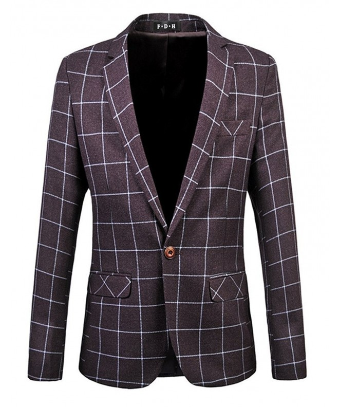 HZMK Button Center Blazer Jacket