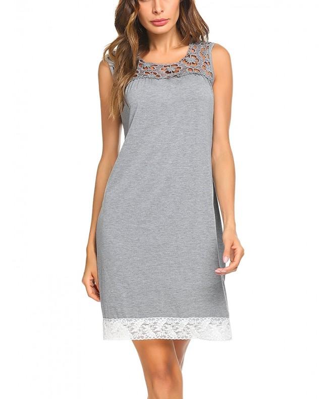 MAXMODA Sleepwear Victorian Nightgown Loungewear