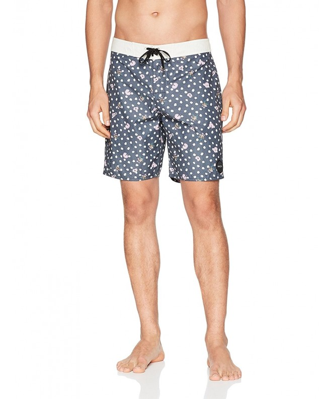 RVCA Mens Dahlia Trunk Navy