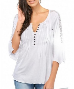 Cheap Designer Women's Henley Shirts Wholesale