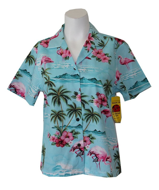 RJC Womens FLAMINGO ISLAND Hawaiian