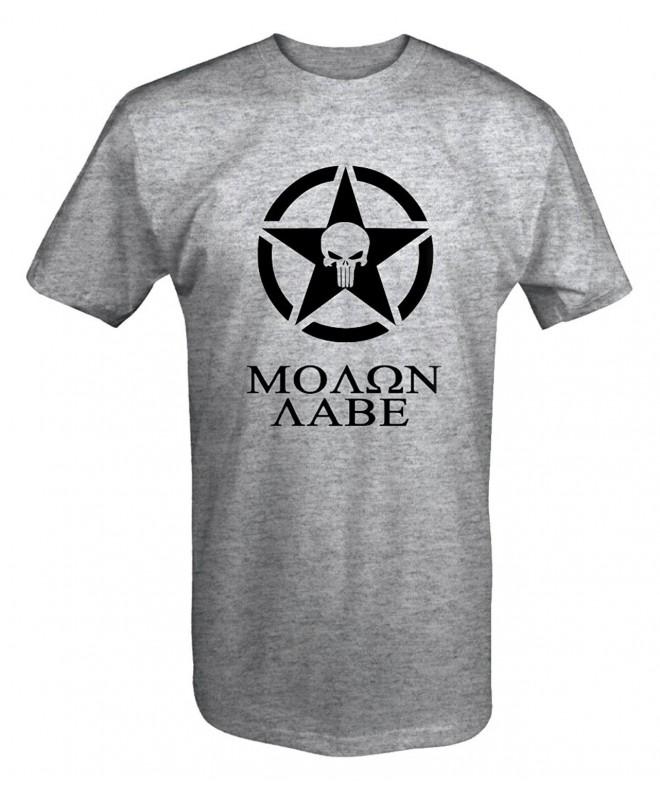Molon Spike Skull Rights Shirt
