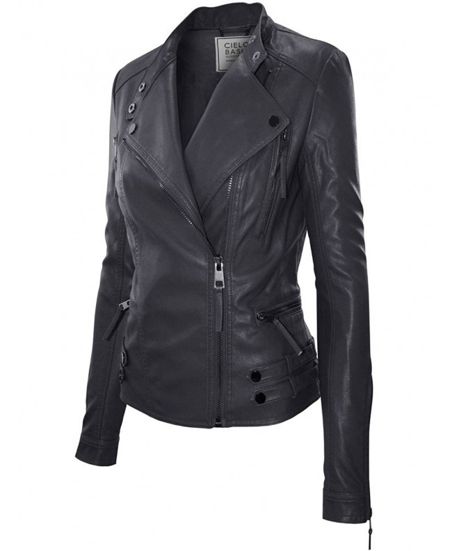 Classic Leather Jacket Medium JK1015