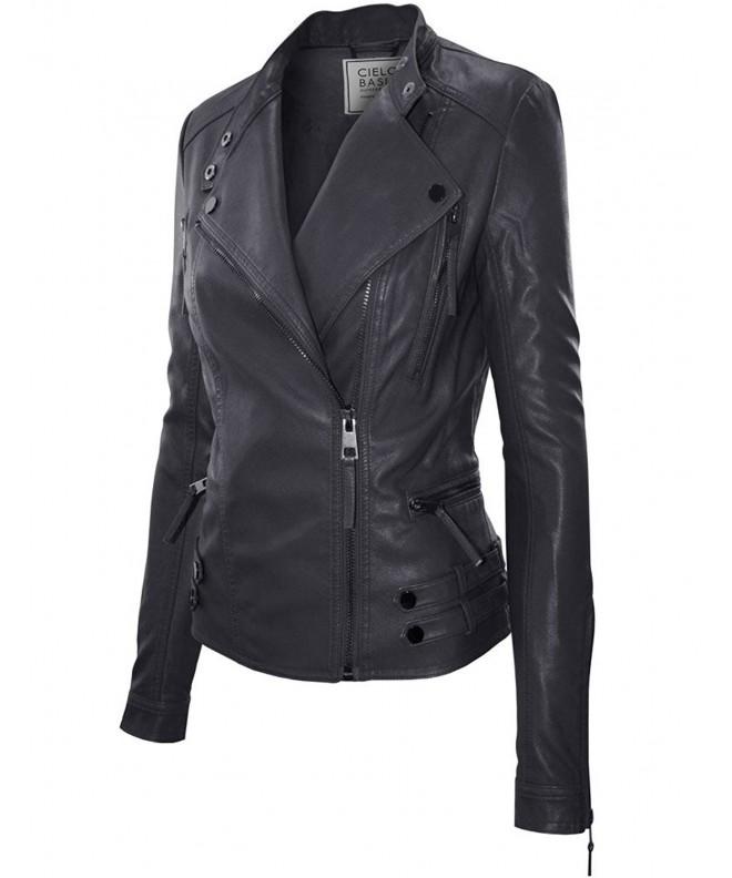 Classic Leather Jacket Medium JK1015