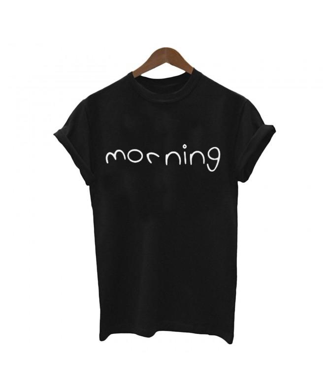 Weigou Morning Printed T shirt Tshirts