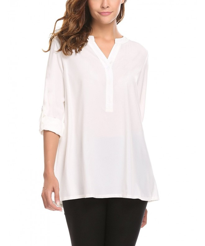 SummerRio Casual Sleeve Henley Fitted