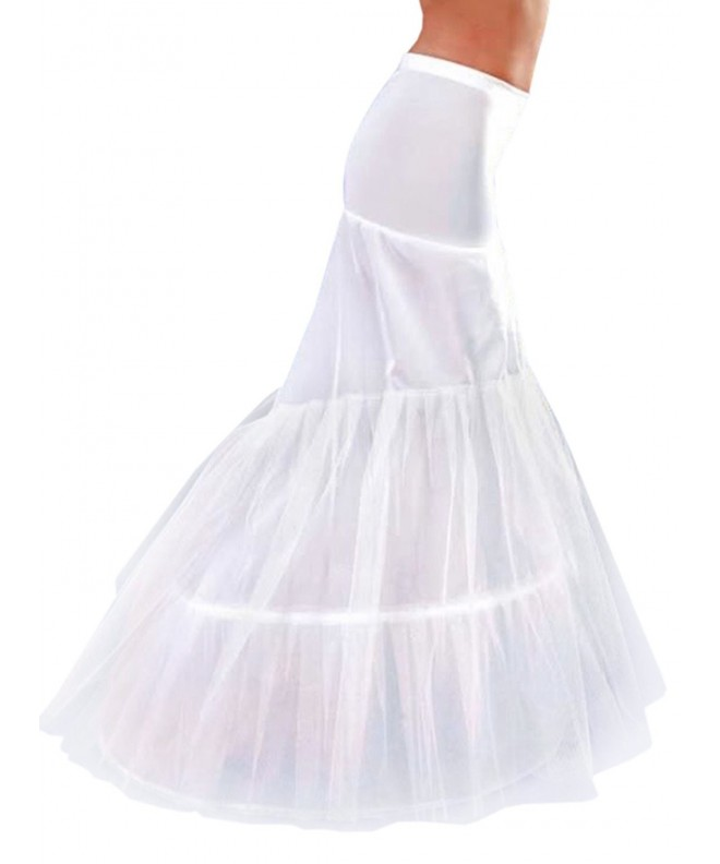 MISSYDRESS Floor length Mermaid Fishtail Petticoat