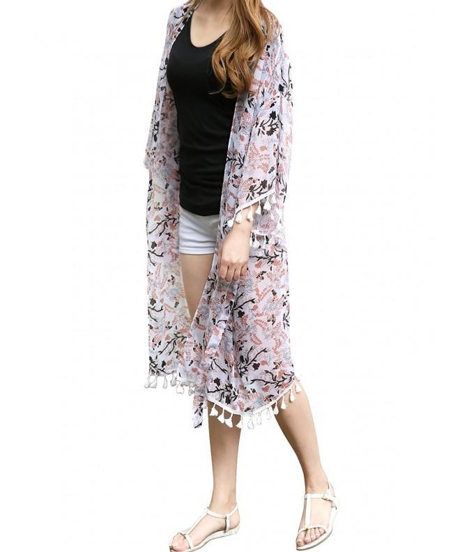 JayJay Women Floral Chiffon Kimono