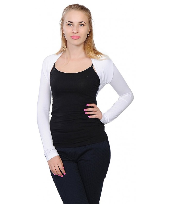 Marycrafts Womens Sleeve Bolero Cardigan