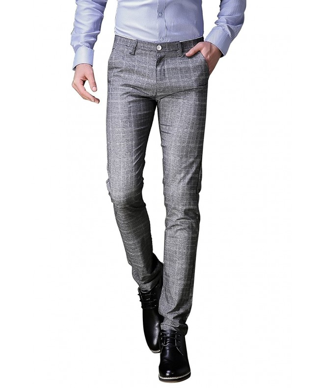 FLY HAWK Business Stretchy Grey