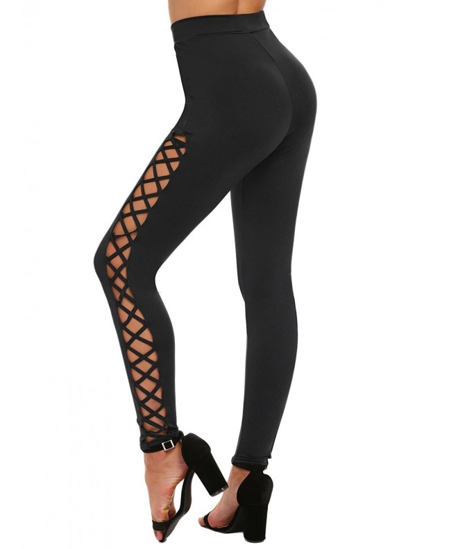 Ekouaer Womens Cutout Legging 83 Black