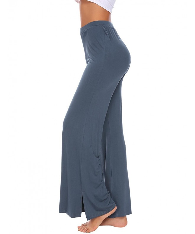 Ekouaer Womens Pajama Splits Lounge