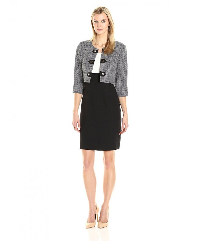 Sandra Darren Womens Sleeve Jacket