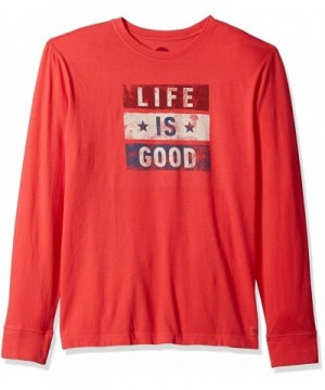 Life Crusher Sleeve T Shirt Americana