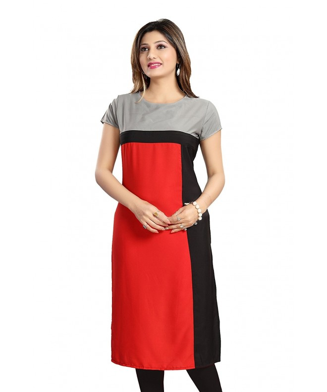 ALC Creation Womens Crepe ALC2009R_Red_XL
