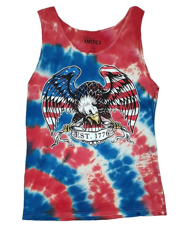 Fashion American Flag Wrapped Eagle