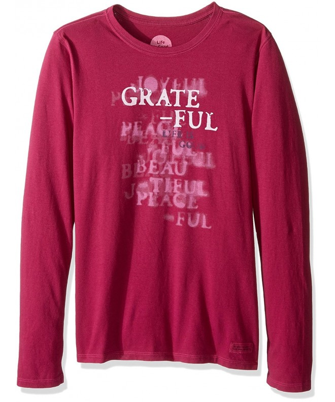 Life Crusher longsleeve Grateful Stencil