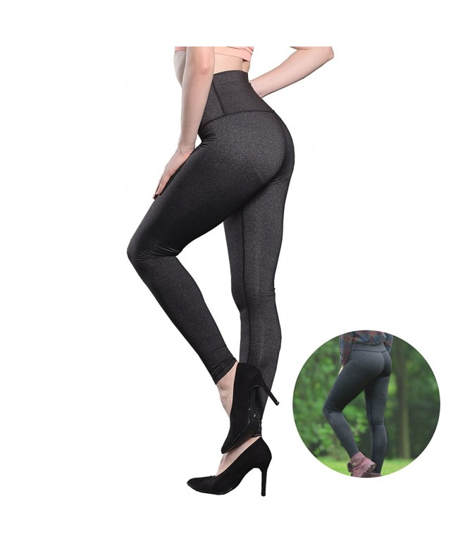 Leggings Workout Running Postpartum Charcoal